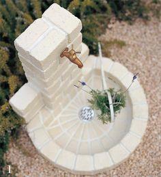 Garden Sink, Terrace Garden, Backyard Projects, Garden Projects, Terrace Design, Garden Design, Stone Flower Beds, Indian Home Design, Door Gate Design
