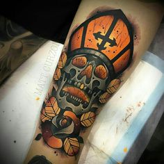 Tattoo done by: Matt Curzon