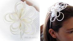 Románticas flores, lazos originales, elegantes y sencillos. Diseños exclusivos de alta gama, realizados completamente de forma artesanal ...