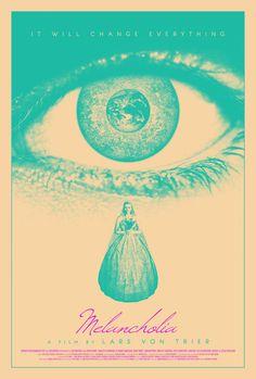 Melancholia poster by drMIERZWIAK on deviantART - Follow the podcast https://www.facebook.com/ScreenWolf and https://twitter.com/screen_wolf