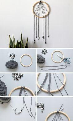 DIY Modern Dream Catcher - Le bazar d'Alison - Blog Mode d'une Lyonnaise: DIY - Le dreamcatcher moderne