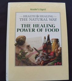 $3.00 - Reader's Digest Healing Power of Food 1999 HC (103116-1375) reference books