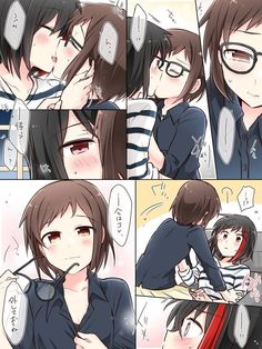 Anime Girlxgirl, Yuri Anime, Anime Art, Green Tea Neko, Yuri Comics, School Of The Dead, Art Station, Girls Rules, Cute Anime Character