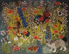 Guy de Chaugnac-Lanzac, dit Dom Robert (1907-1997), Atelier Suzanne Goubely - Aubusson, Vasca, tapisserie en basse lisse numérotée, 170 x 215 cm.  Adjugé : 59 290 € Albi, samedi 18 février.  Hôtel des ventes du Tarn OVV.