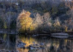 Sunset On Billy Goat Trail Outside Dc by Francis Sullivan fineartamerica.com