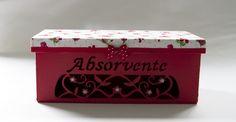 Porta Absorvente - Comprar em Pietro Artesanatos