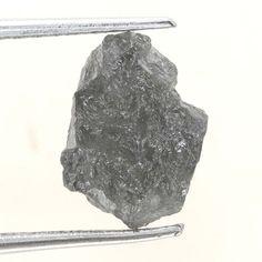 1.91 TCW Grayish Mix Color African Irregular Loose Rough Natural Raw Diamond
