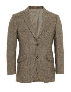 M&S tailored fit herringbone tweed blazer, 38 L