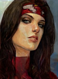 Spider-Woman study 1 by by Alex Maleev