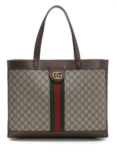 05cd392458f4 GUCCI GUCCI OPHIDIA CHECKERED TOTE BAG. #gucci #bags #leather #hand bags # tote