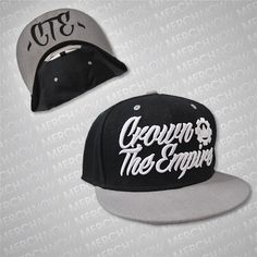 CTE Black / Grey Snapback