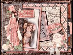 Pocket Page base Tutorial for the Mon Amour Photo Album. By Anne Rostad