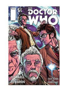 Doctor Who: Four Doctors #5 Comic,