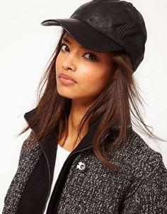 I need a leather cap!
