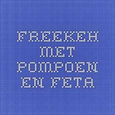 Freekeh met pompoen en feta