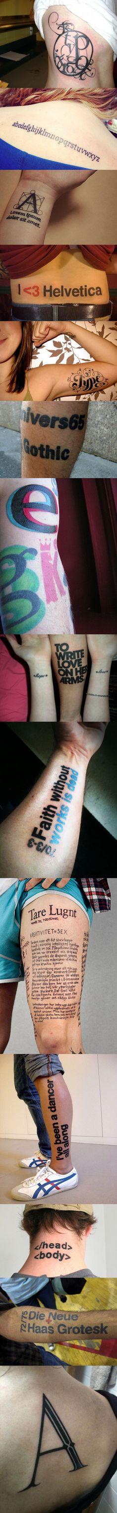 Type Tattoo