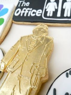 Dundy award cookie from The Office