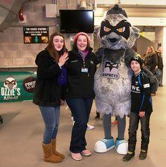 Ozzie Osprey  #mascot #costume  #osprey #bird