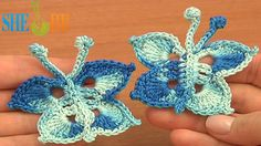 Crochet Small Butterfly Tutorial 15 Free Crochet Butterfly Patterns