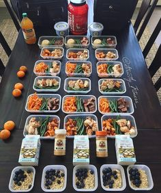 Killer meal prep by @strictly_fitness_ that's simple and super effective! - Bring professional meal planning and prepping techniques into your kitchen with @mealplanmagic - ALL-IN-ONE TOOL & GUIDES - Build Custom Plans & Set Nutrition Goals BMR BMI & Max Rate Calculator Learn Your Macros by Body Type & Goal Grocery Lists Automated to Weekly Needs Accurate Cooking and Prep Summaries Combine & Export Data for Two Plans Track Your Progress & Daily Allowance Food Lists for Clean Eating Database…