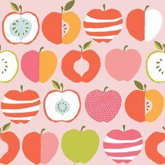 "MONALUNA Bio Baumwolle Juicy ""Pink Delicious"" von PinkPeppa auf DaWanda.com"