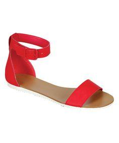 Loving this Cherry Joy Sandal on #zulily! #zulilyfinds