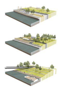 Anerkennungspreis Landschaftsarchitektur: © © Esther Augustin, Lars Schöberl, Charlotte Tobey