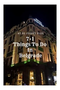 Check out my blog If you want to read 7+1 things to do in Belgrade. #travel #traveling #travelalone #travelwithfriends #europe #serbia #belgrade #hotels #visitbelgrade #visitserbia #visiteurope #night #life #backpacking #world #people #hello #like #post #repost #love #save #blog #blogging #travelblogging #travelblog #memories #makememories #lights #friends #family #destinations #destinationsineurope #cheapdestinations #remember Stuff To Do, Things To Do, Family Destinations, Belgrade, Travel Alone, Capital City, Friends Family, Night Life, Backpacking