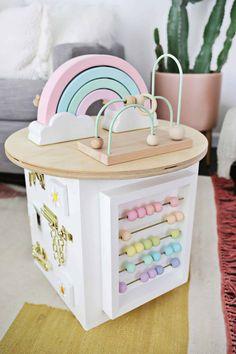 Toddler Activity Center DIY! - A Beautiful Mess