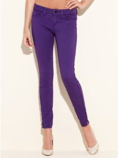 GUESS Brittney Ankle Skinny Jeans with Zip - M