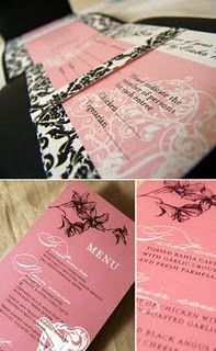 Shabby Chic Wedding Invitations 2