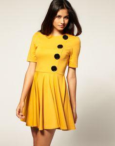yellow dresses | million dresses | UK Fashion and Lifestyle Blog: Wednesday Wants