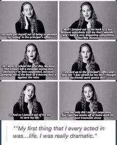 Jen is perfect. How much greater can she get?