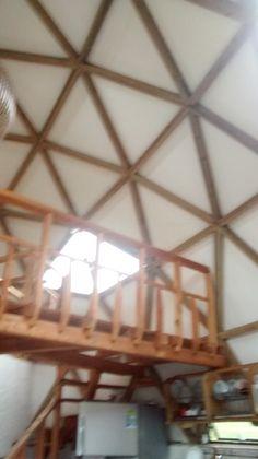 Espacio geodesico con mezanibe