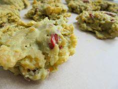 Matcha teás kukoricapehely-falatok Matcha, Guacamole, Mexican, Eggs, Cookies, Chicken, Breakfast, Ethnic Recipes, Food