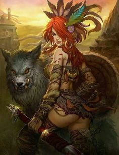 Artwork By Mo Li aka Fantasy Art Village Social Network for Fantasy, Pinup, and Erotic Art Lovers! Fantasy Girl, Fantasy Female Warrior, Chica Fantasy, Fantasy Kunst, Dark Fantasy Art, Fantasy Women, Fantasy Rpg, Female Art, Woman Warrior