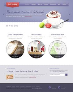 A premium WordPress theme designed for coffee shops, bars, bistros, cafes, or restaurants