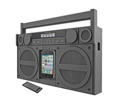 Boombox, Gadgets And Gizmos, Cool Gadgets, Tech Gadgets, Radios, Apple Iphone, Ipod Dock, Digital Signal Processing, Accessoires Iphone