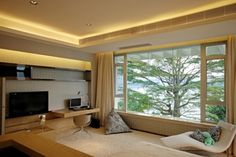 Warm House Interior Design in China by Thomas Chan