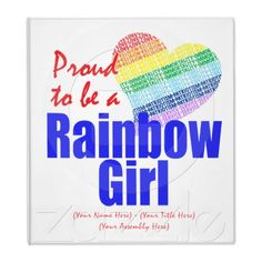 International Order of the Rainbow for Girls, a non-profit organization for girls ages 11-20 that promotes volunteering, leadership and fun! www.GoRainbow.org