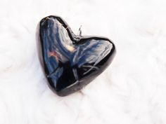 Black Coral pendent (Heart 3)