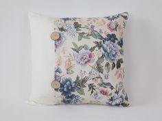 Kissen 35x35 floral blumig