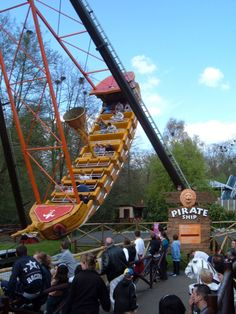 Pirate Ship at West Midlands Safari Park, Bewdley
