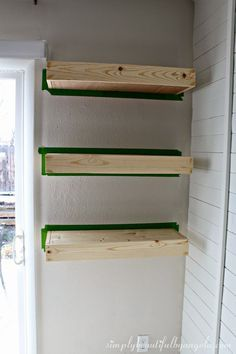 10 Enterprising Tips AND Tricks: Floating Shelf Decor Grey Walls how to make floating shelves rustic modern.How To Make Floating Shelves Couch floating shelf entryway wall colors. How To Make Floating Shelves, Reclaimed Wood Floating Shelves, Floating Shelves Bathroom, Rustic Floating Shelves, Shelves Around Tv, Tall Shelves, Minwax Wood Stain, Bathroom Cabinet Organization, Shelf Nightstand