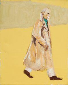 Simon Schneiderman, Walking Man | LIPMAN ART