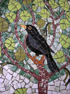 Mentioned previously - Exeter Fountain Project and other public art - where I mentioned my favourite piece of Exeter's public art being t. Mosaic Garden Art, Mosaic Wall Art, Mirror Mosaic, Mosaic Diy, Mosaic Crafts, Mosaic Projects, Mosaic Ideas, Mosaic Animals, Mosaic Birds