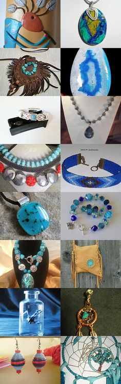 Blue Treasures by William Minchew on Etsy--Pinned with TreasuryPin.com
