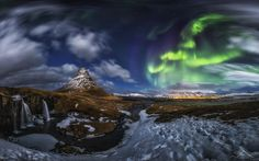 Photograph Kirkjufell Panorama by Nicholas Roemmelt on 500px (Norway)