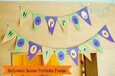 Halloween Banner Freebie! - A NOLA Affair