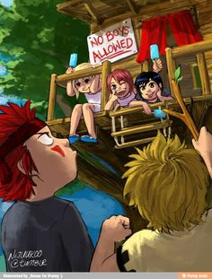 So cute! Namine, Kairi, and Xion have an exclusive club. Poor Axel and Roxas want in!